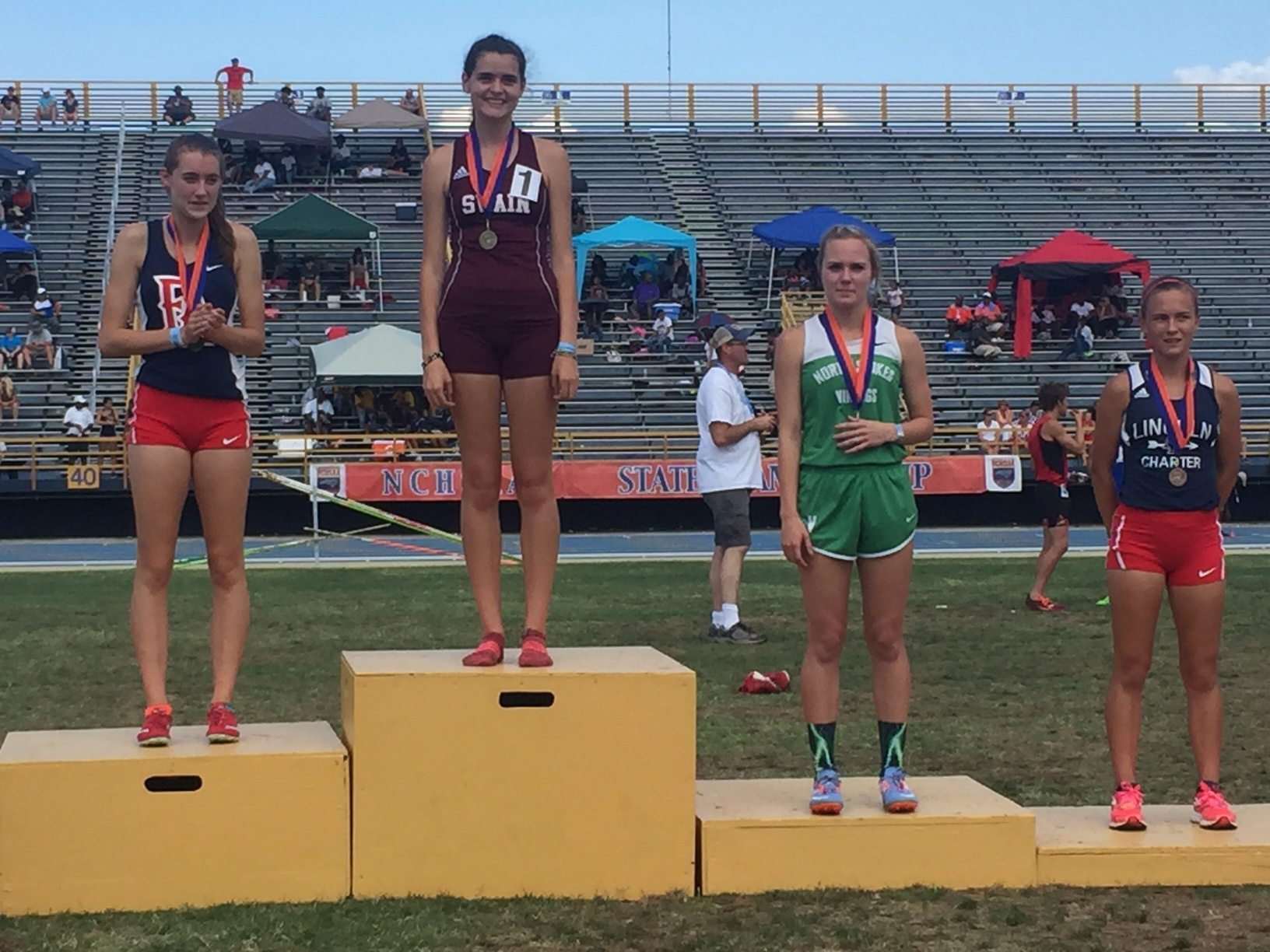 Emma Pindur Shines on State's Biggest Track Stage