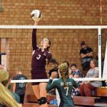 Lady Devils Fall in 5 Sets to Visiting Pisgah
