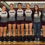 Lady Devils Sweep Cherokee on Senior Night