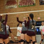 Lady Devils Fall to Hayesville in Straight Sets