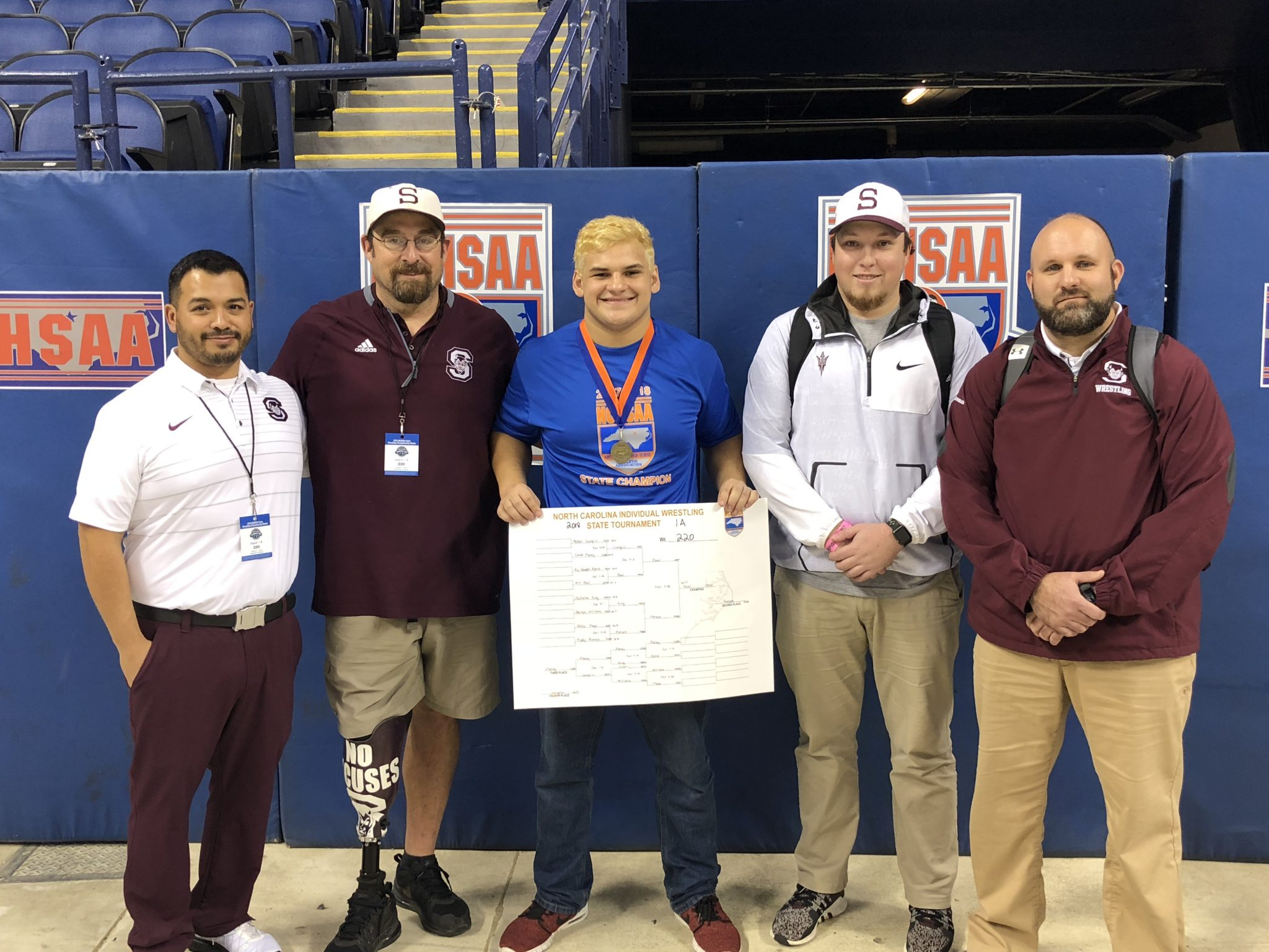 Will Paul Named All WNC in Wrestling