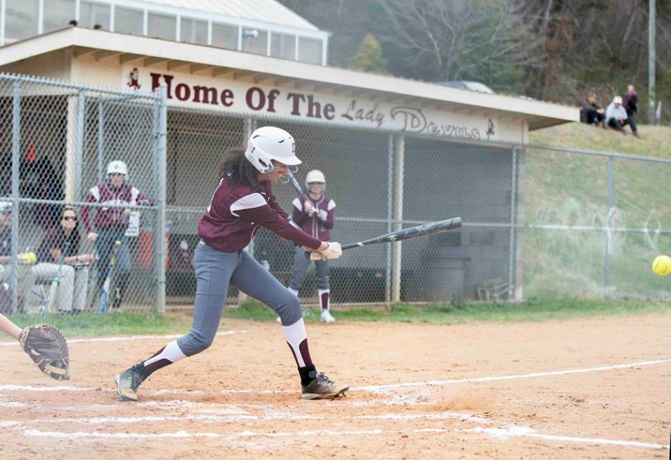 Lady Devils Get 2 More No-Hitters From Griggs in Taking Wins Over Bobcats