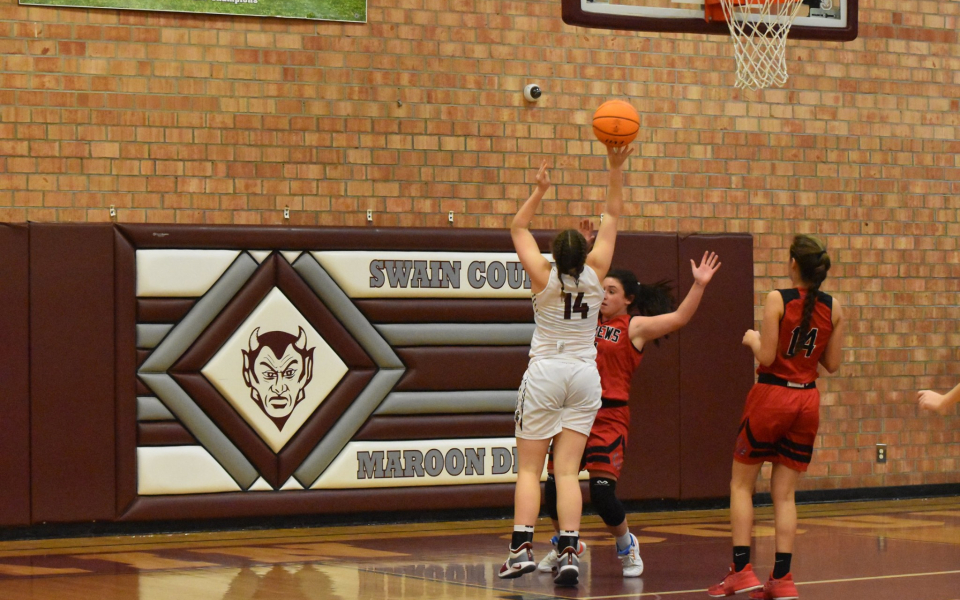 Cold Shooting Dooms Lady Devils