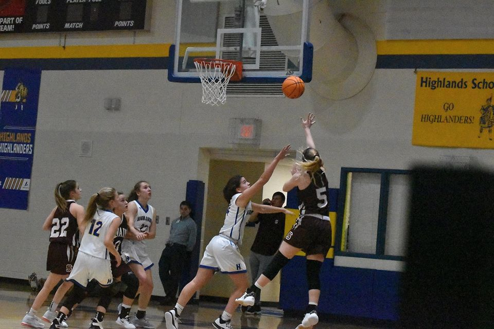 Highlands Pulls Away Down The Stretch For 61-57 Win Over Lady Devils
