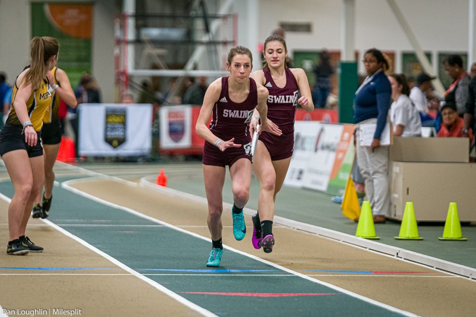 Swain Competes in State Indoor Track Championships