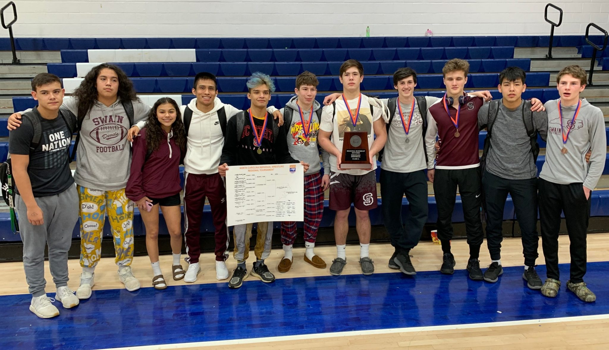 Maroon Devils Will Send 6 to NCHSAA State Wrestling Championships