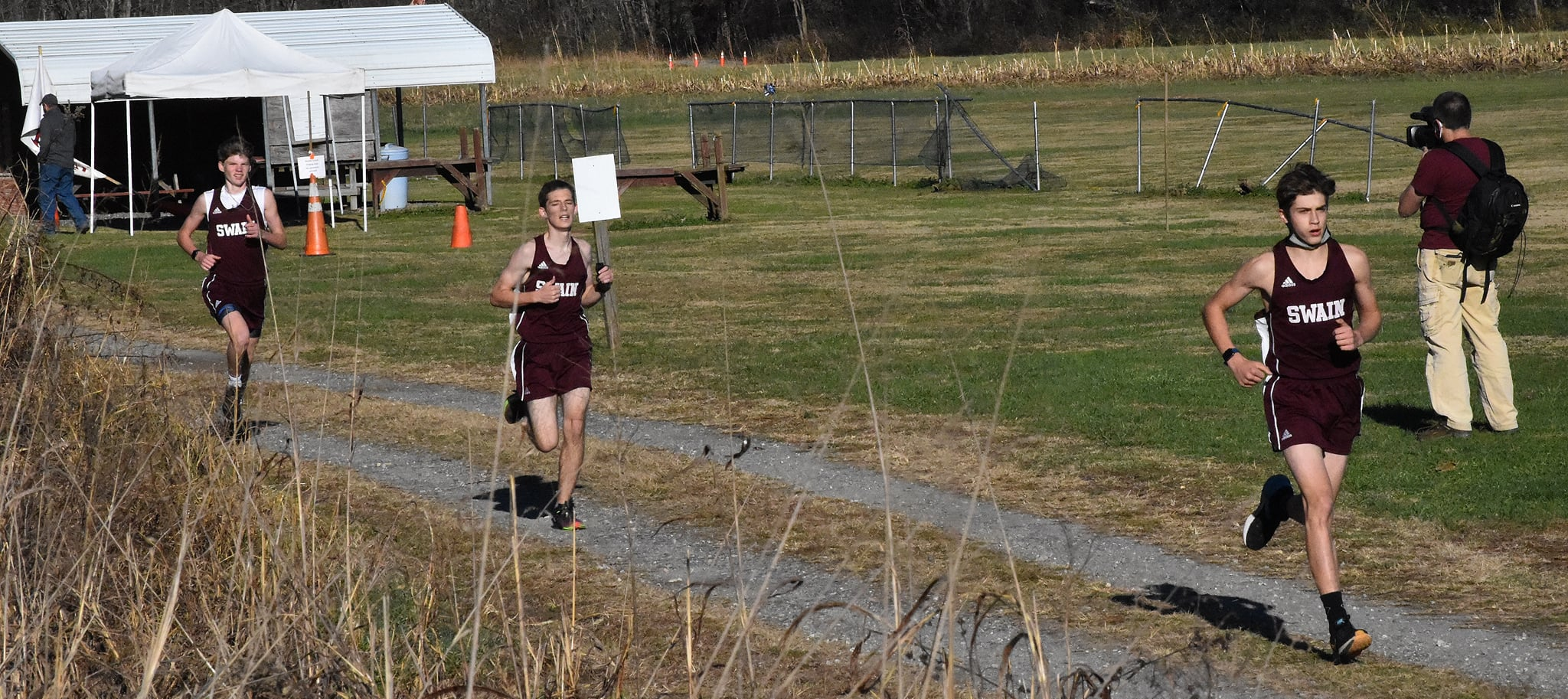Maroon Devils Race to a Win in 1st Meet