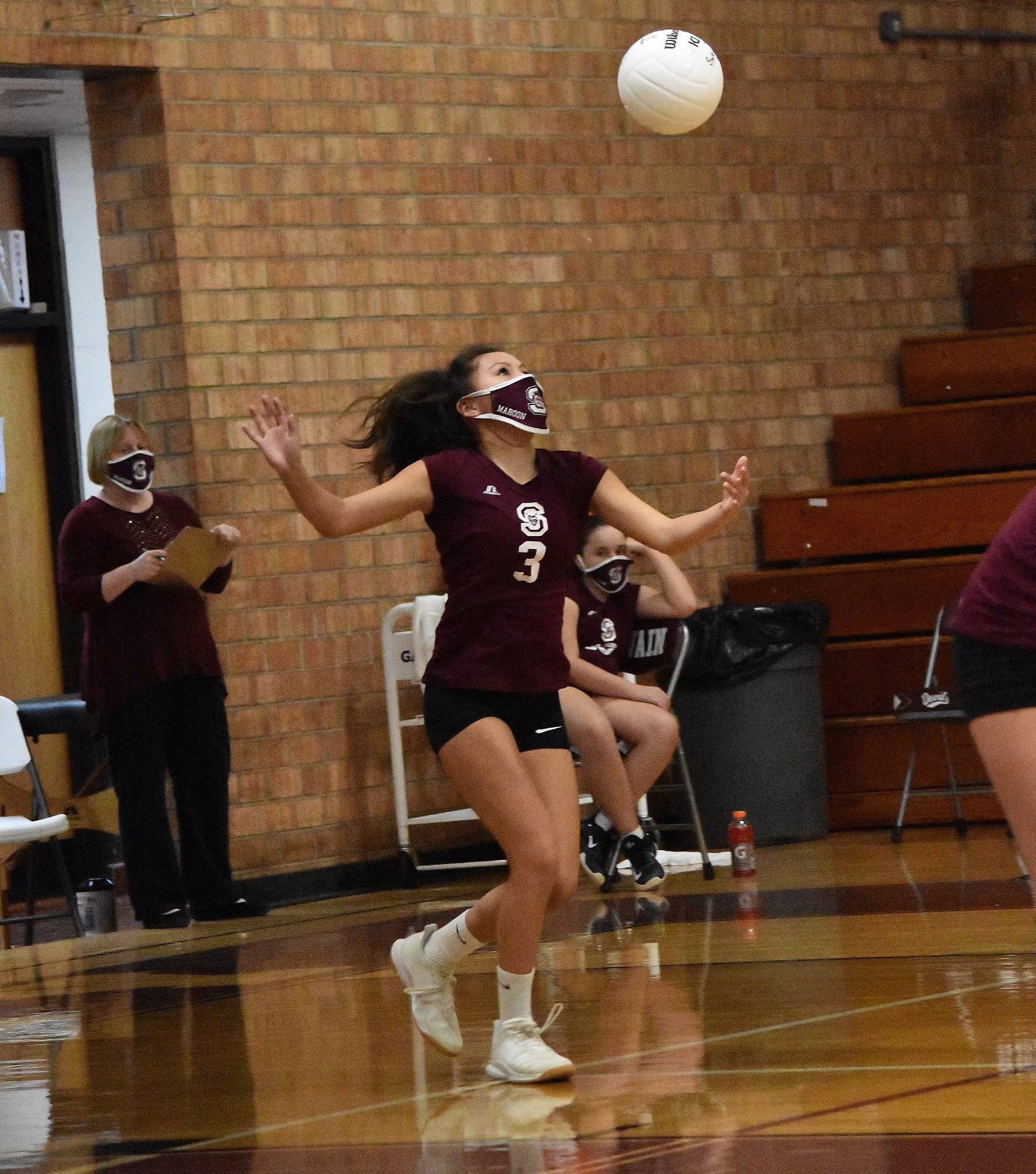 Swain Middle Sweeps Andrews in Volleyball