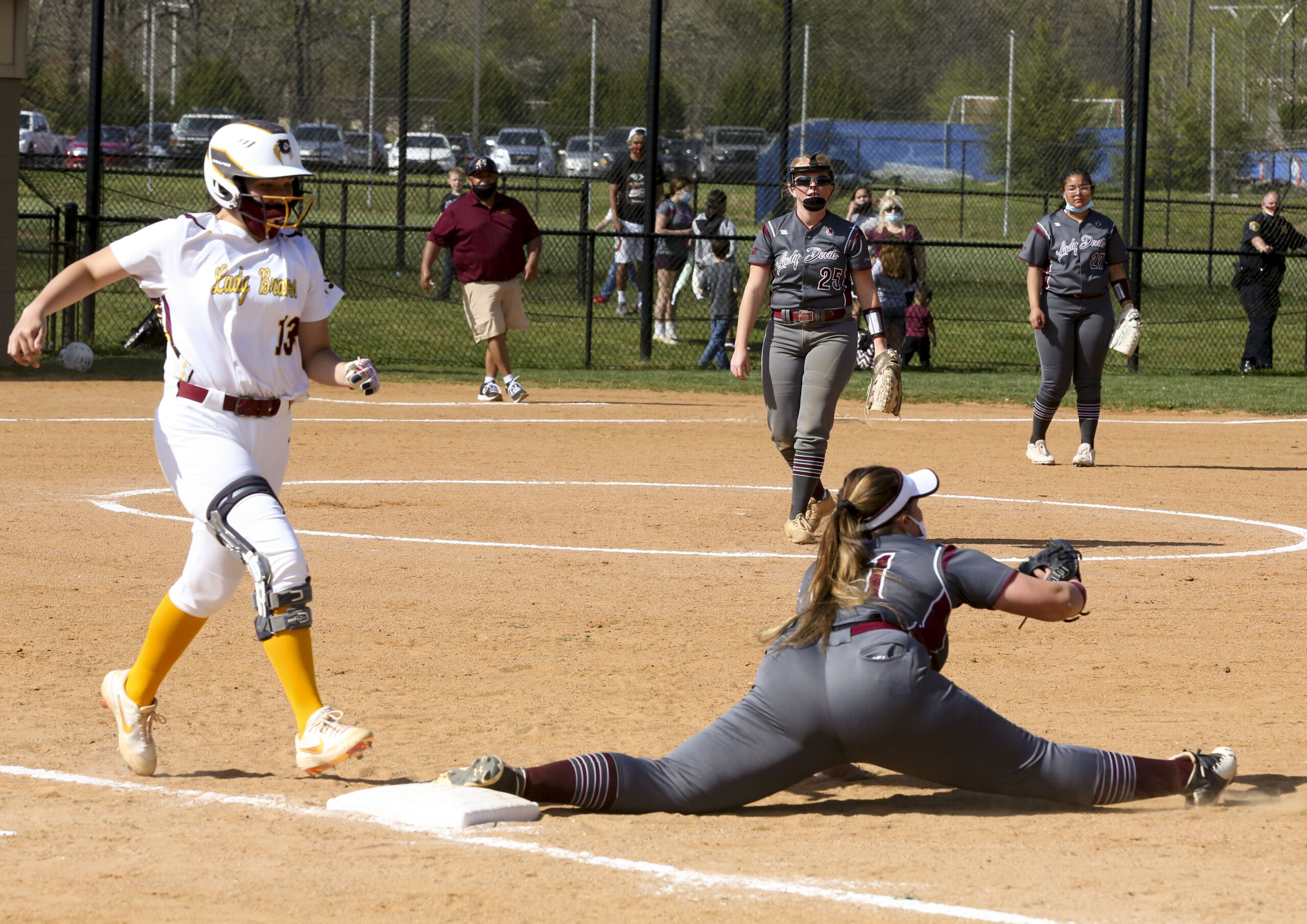 Lady Devils Come From Behind Win in Extra Innings