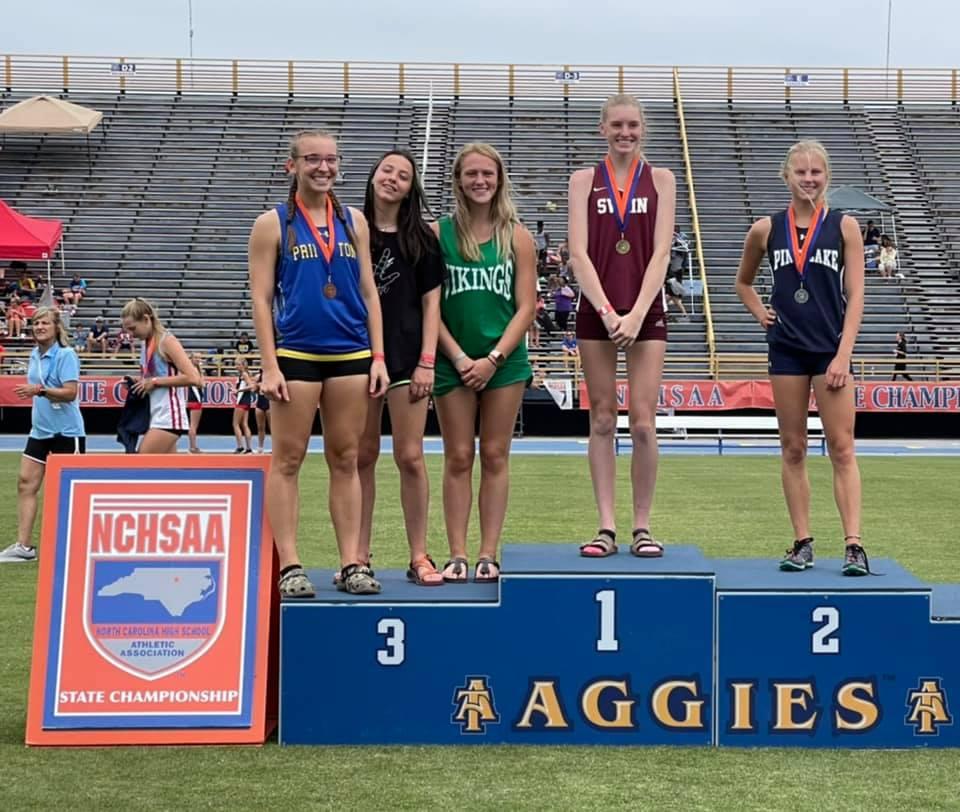 Amelia Rogers 2021 NCHSAA State Champion - Pole Vault